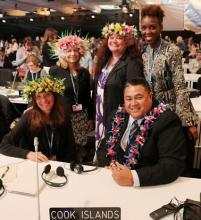 COP22 Cook Island Delegatiopn