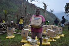 Food distribution in Pentecost