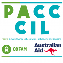 Pacific Climate Change Collaboration Influencing and Learning Project